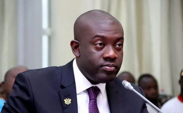 Minister for Information, Oppong Nkrumah