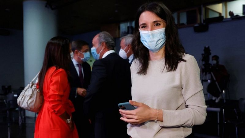 Equality Minister Irene Montero said the reform was