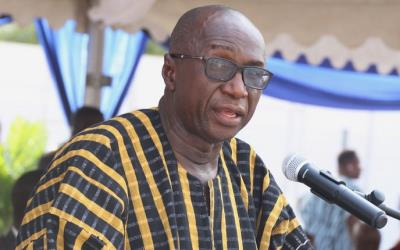 Minister for the Interior Ambrose Dery