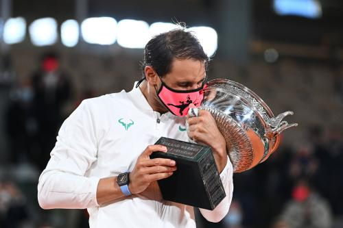 Nadal, who won his first French Open title in 2005, has only lost twice at Roland Garros in his career