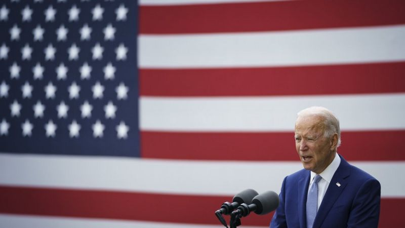 Joe Biden, who campaigned in Georgia in October, is the first Democratic presidential candidate to win the state since 1992