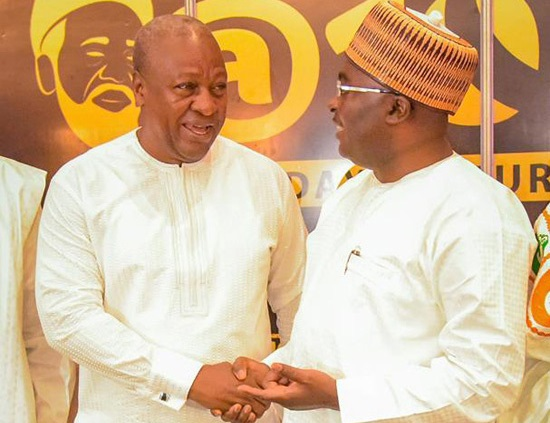 Video: Dr Bawumia hits back at Mahama over 'God save us' comment