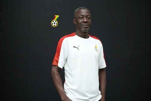 Black Starlets coach Ben Fokuo