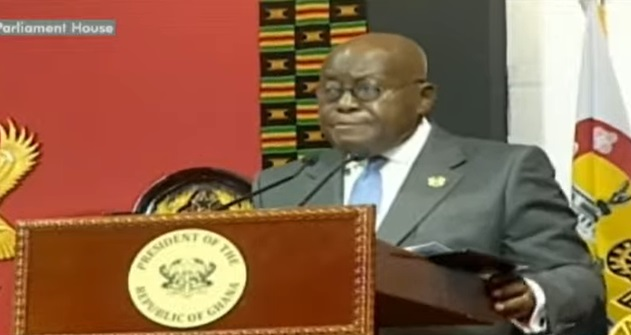Akufo-Addo sworn in as President for his second term