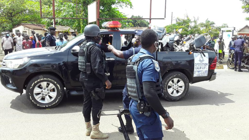 Police intensify relentless clampdown on criminals