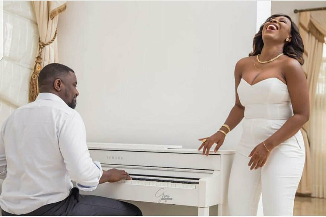 John Dumelo and Gifty Mawenya wedding photos
