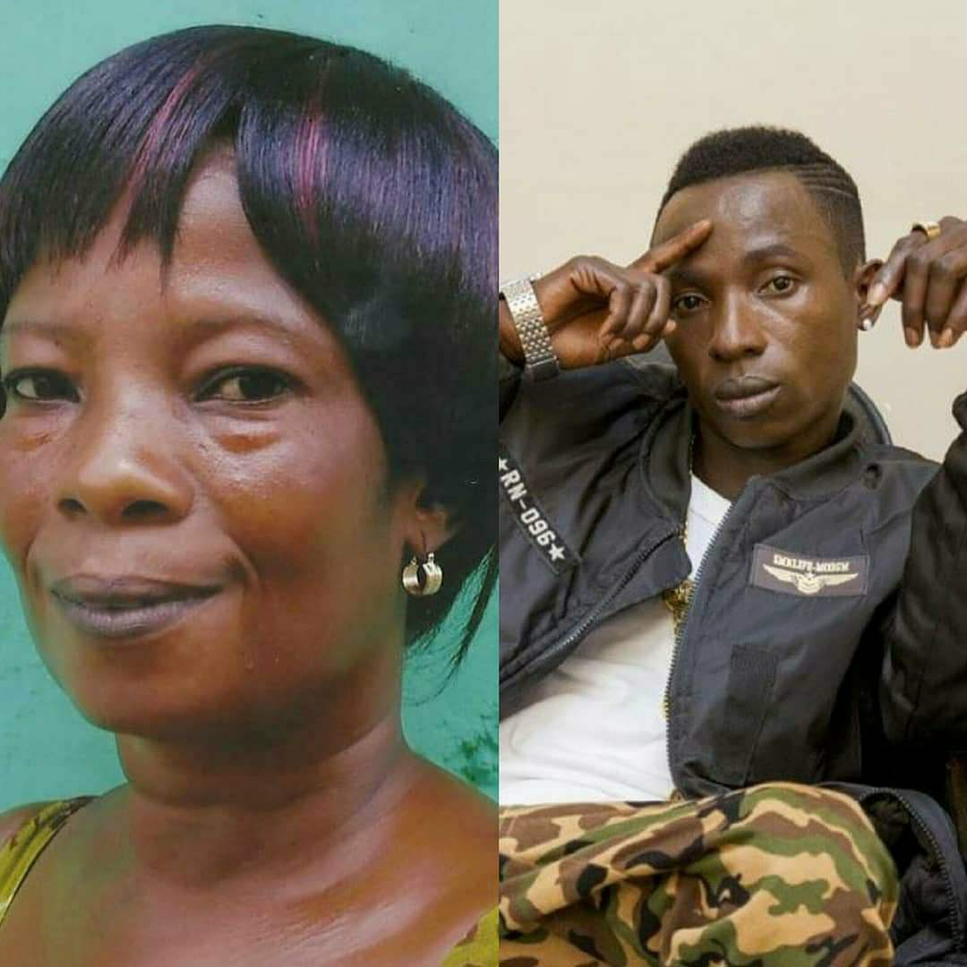 Agona Swedru star Patapaa Amisty also shared a picture of her mother as the best mother in the world