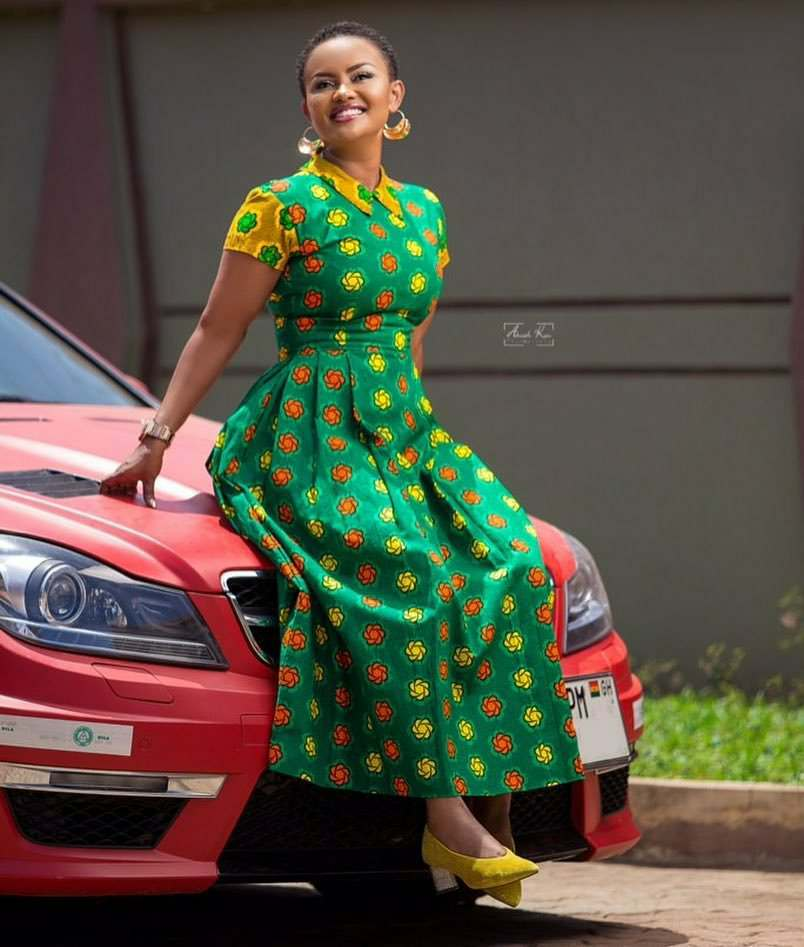 Nana Ama confirms she's 40 years old