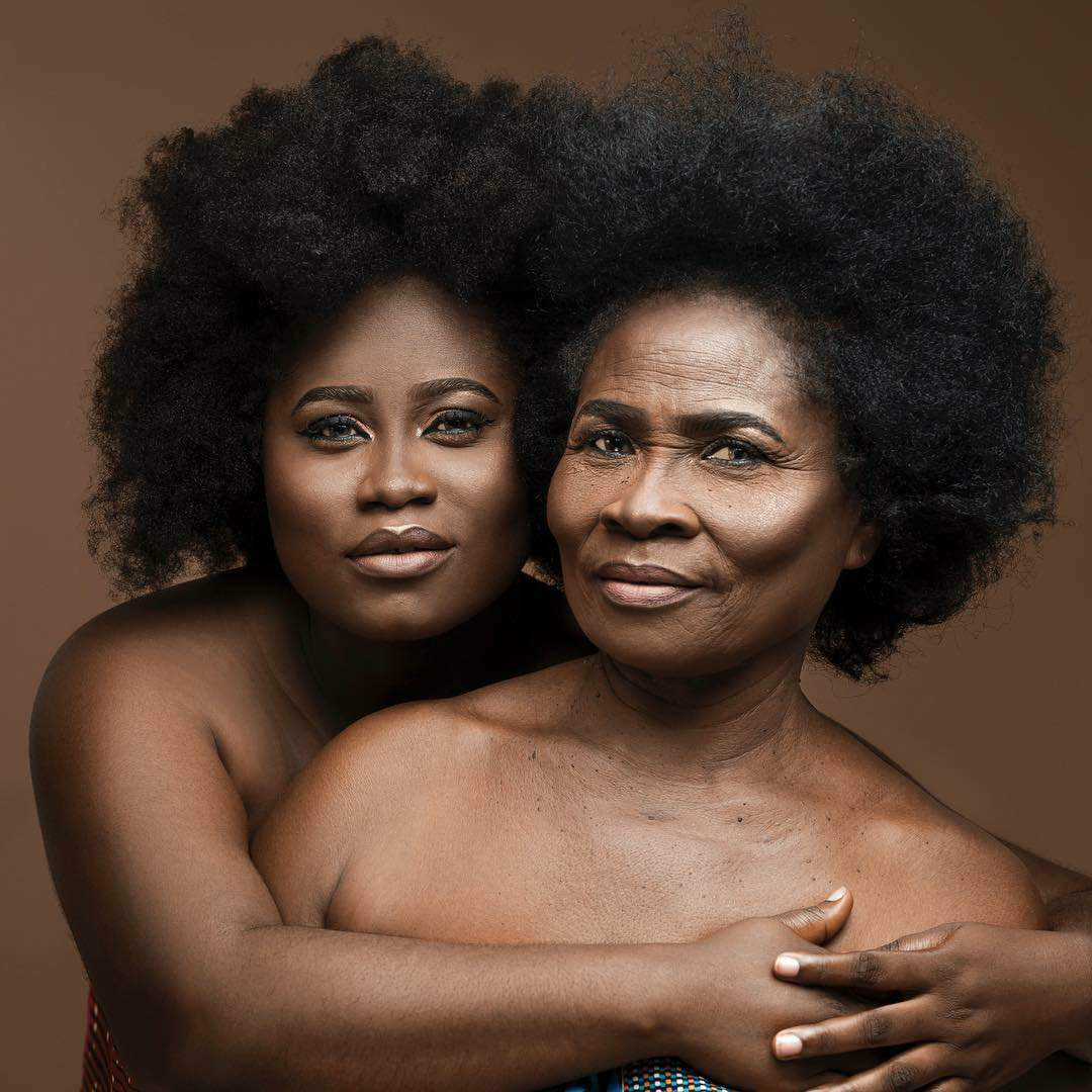 Lydia Forson shared a true picture of her Mother with Love all over