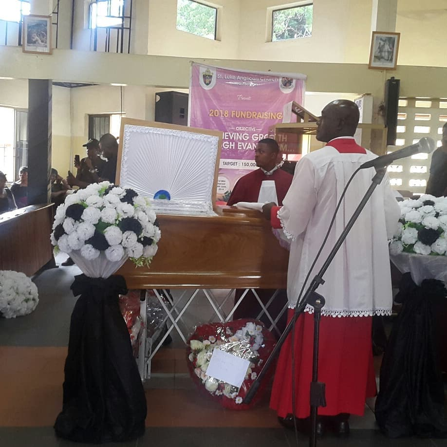 Nana Turkson's burial service in pictures