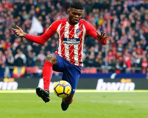 Ghanaian midfielder Thomas Partey could be key for Atlectico Madrid tonight
