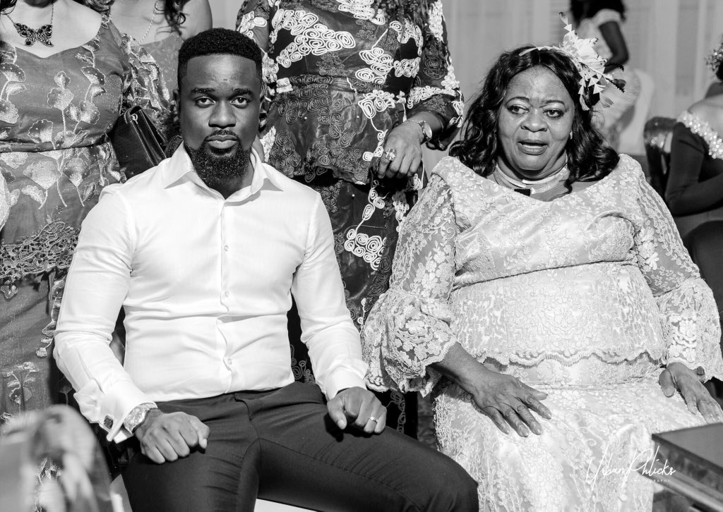 Ghanaian celebrities share photos with their mothers