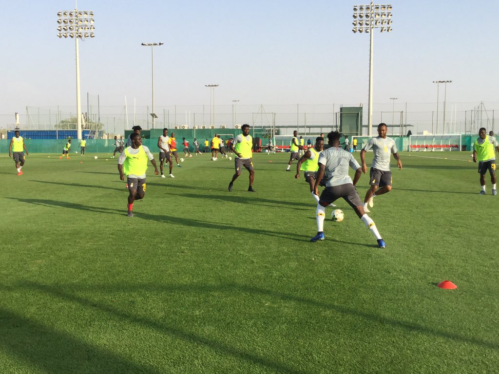 BLACK STARS TRAINING