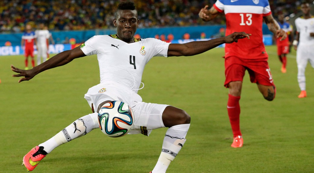Daniel Opare was part of the Black Stars squad for the 2014 World Cup