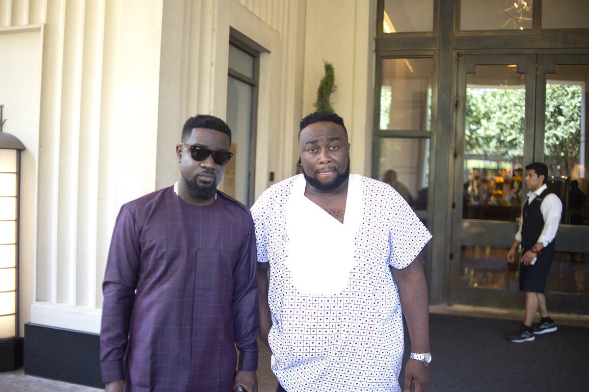 Sarkodies manager sends emotional birthday message about their hustle