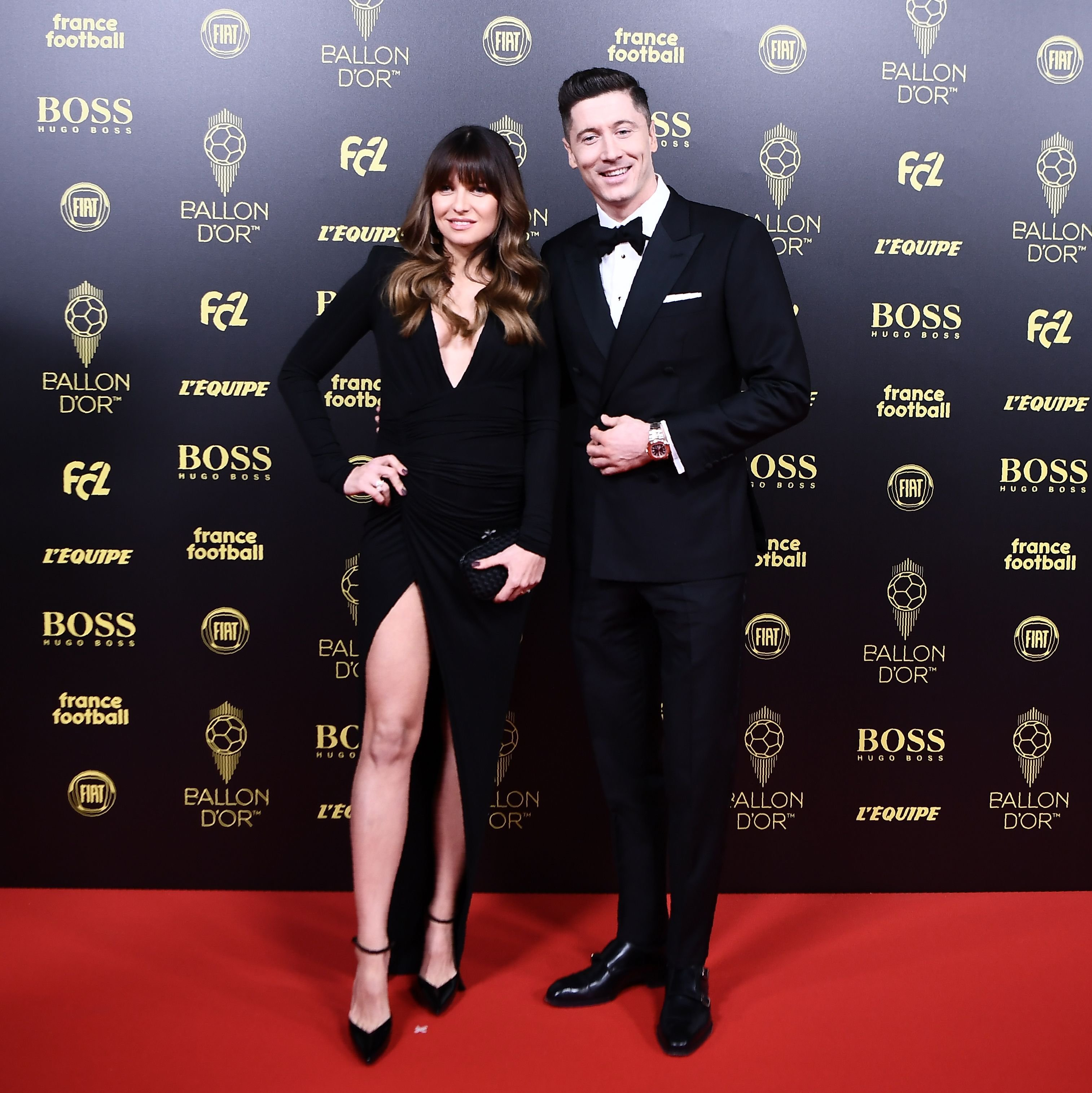 Lewandoski and wife (Anna Lewandowska)