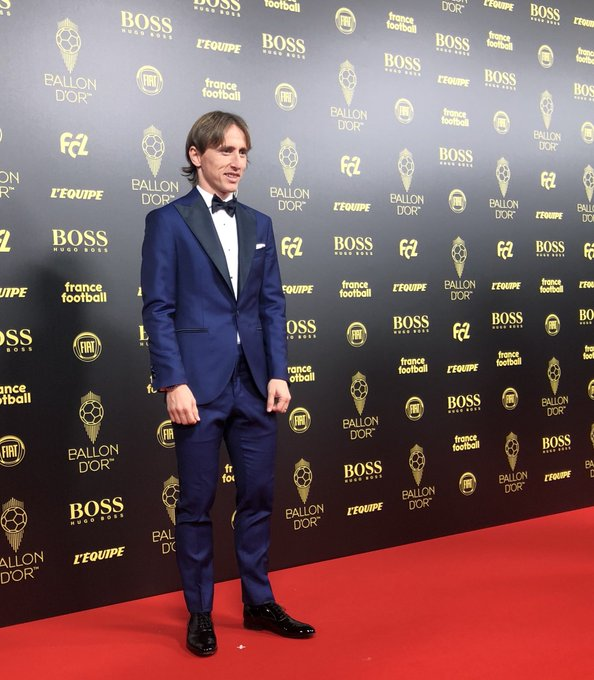 2018 Ballon d'Or winner Luka Modric