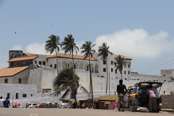 The Elmina castle is perhaps defined the town