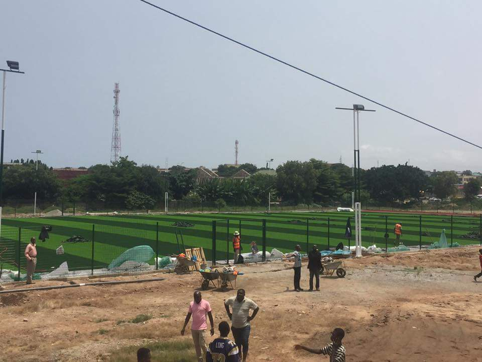 Zongo Minister plans to contruct Astro Turfs in Zongo communities