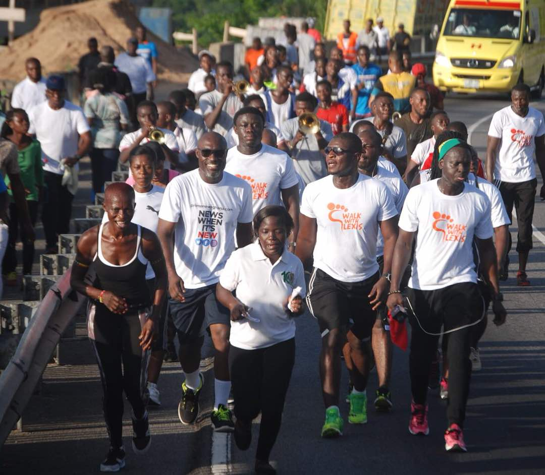 2018 first edition of walk with Lexis