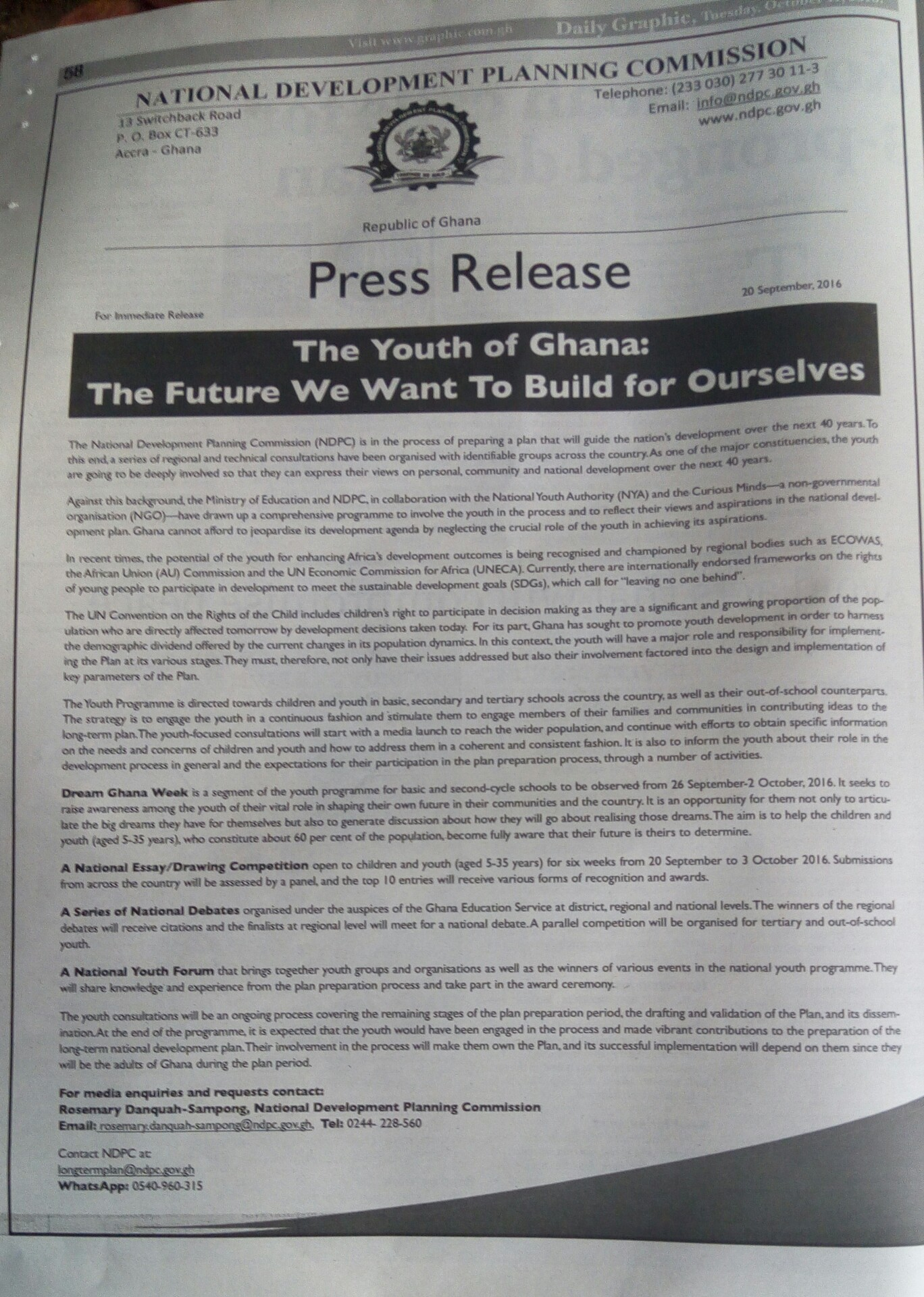 Today Newspaper Front Pages Prime News Ghana