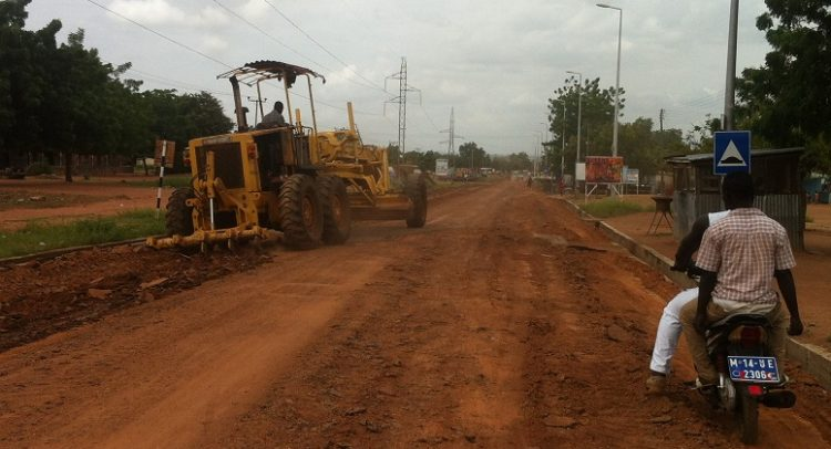Bawku roads receiving attention