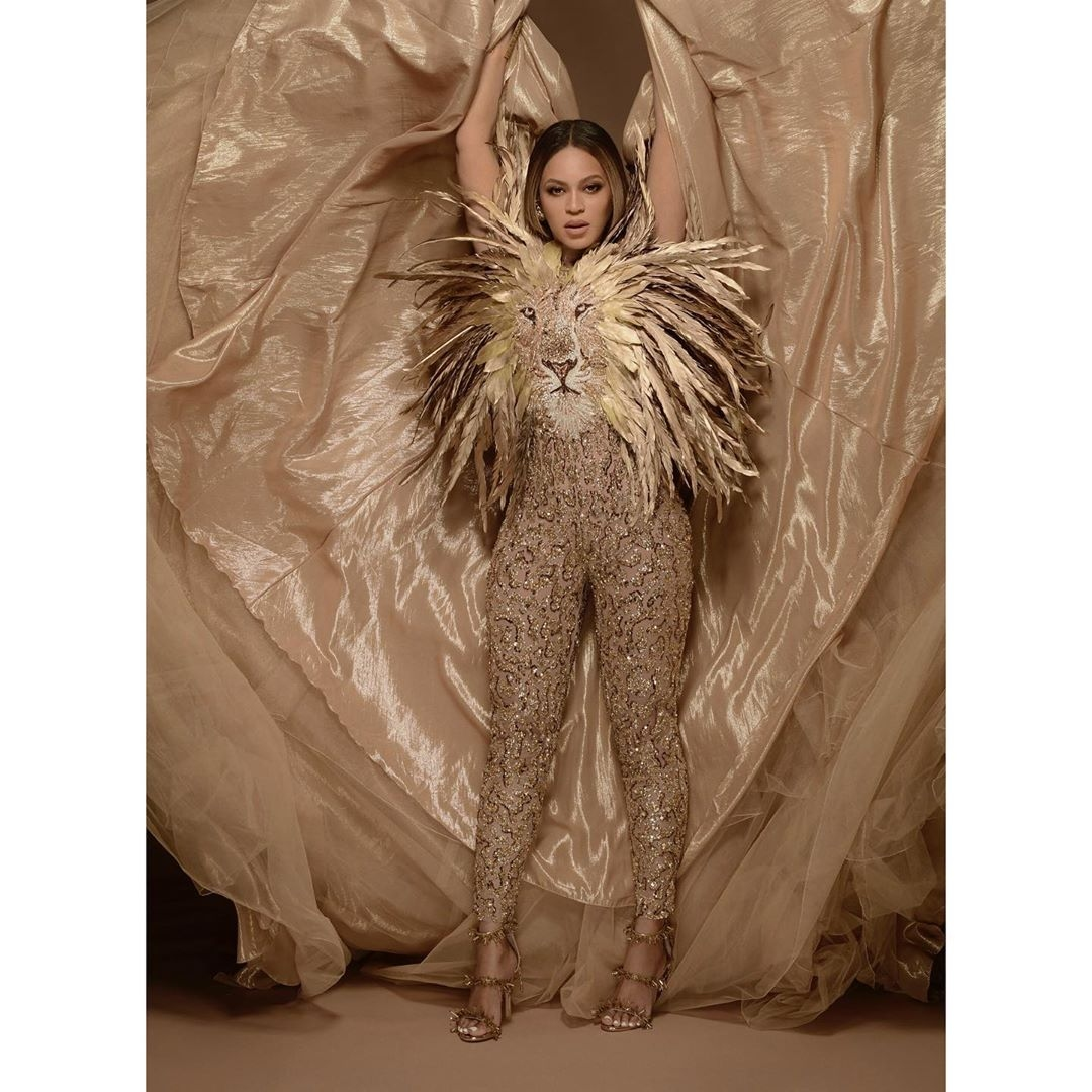 Beyoncé's Lion-King inspired jumpsuit at her mother, Tina Lawson's Gala is a must see