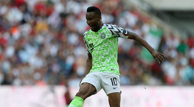 Mikel Obi is the captain of Nigeria
