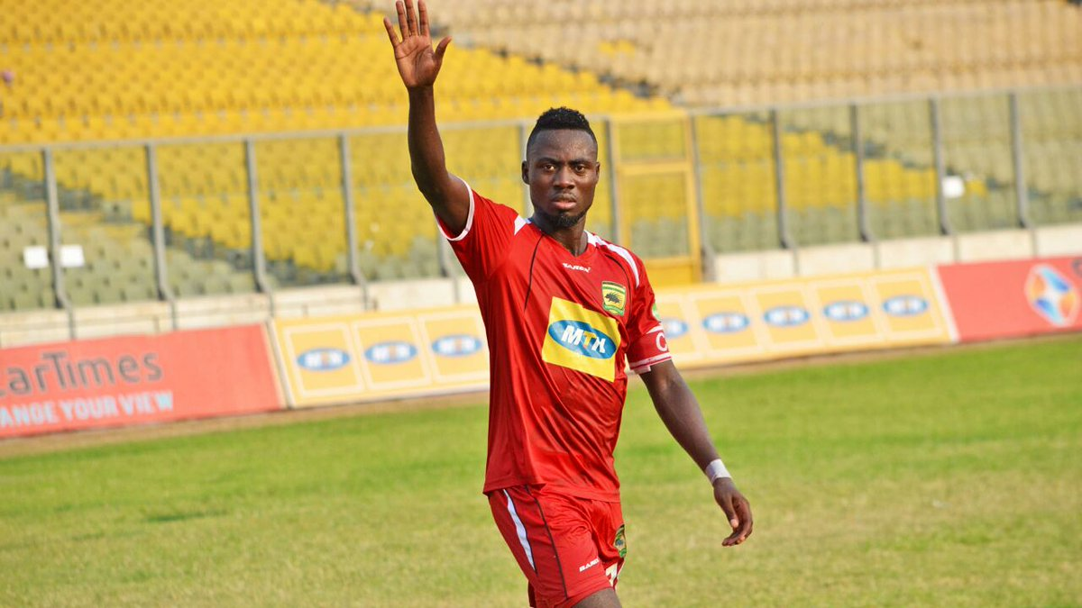 Eric Donkor has joined AshGold from Kotoko
