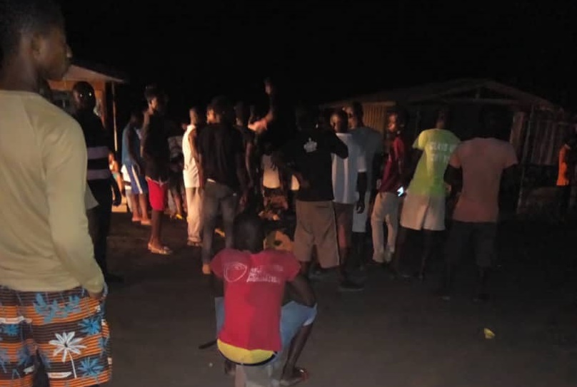 Dumsor protest at Nuaso