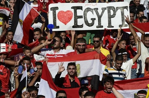 Fans of Egypt will be at Russia 2018