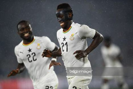 Emmanuel Boateng made his Black Stars debut in Ghana's 2-0 win over Japan