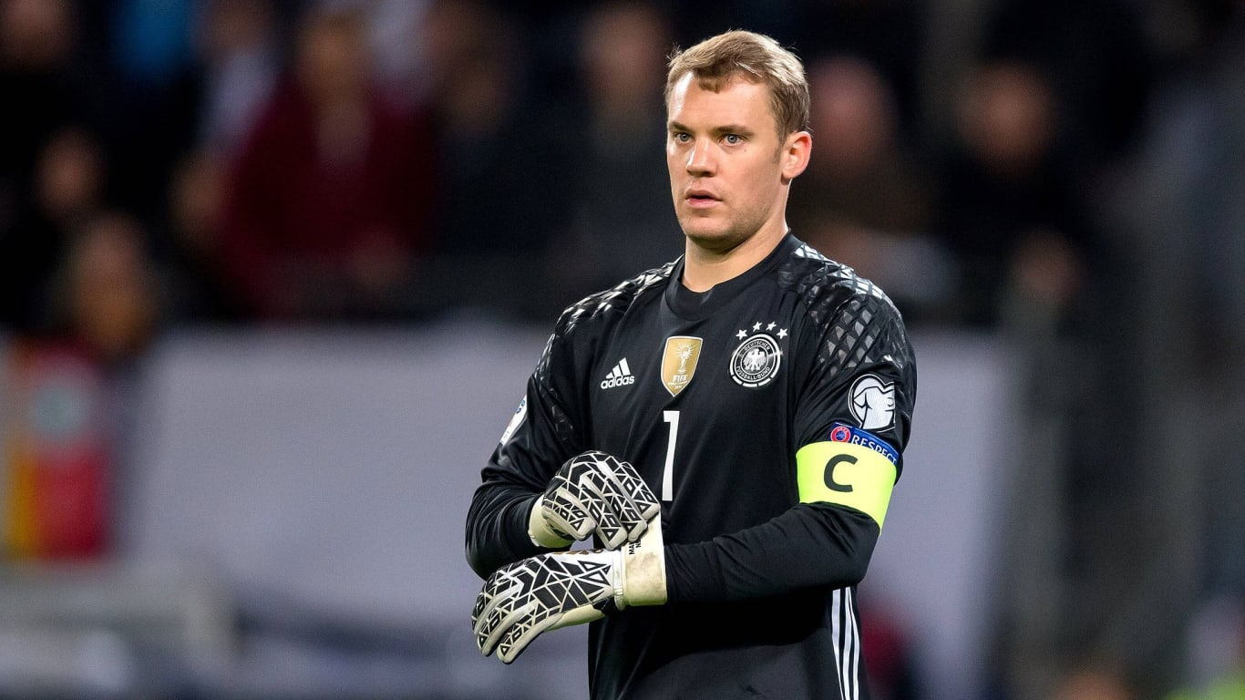 Manuel Neuer is back from injury to lead Germany