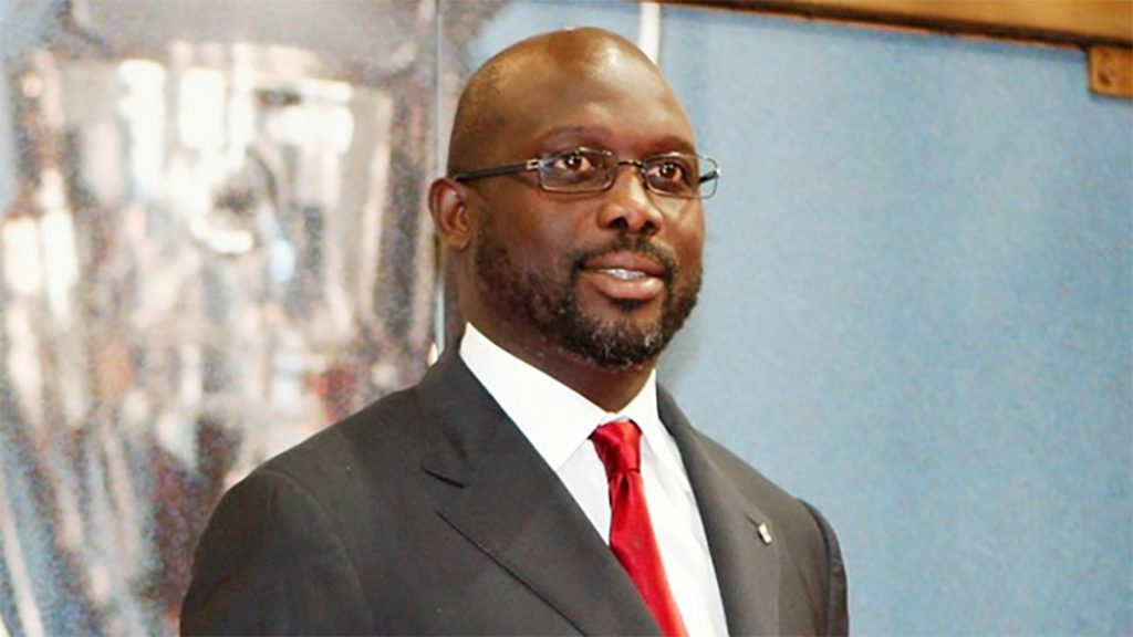 Liberia's President Elect George Weah