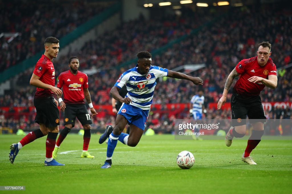 Ghana's Andy Yiadom shines as Reading suffer FA Cup elimination
