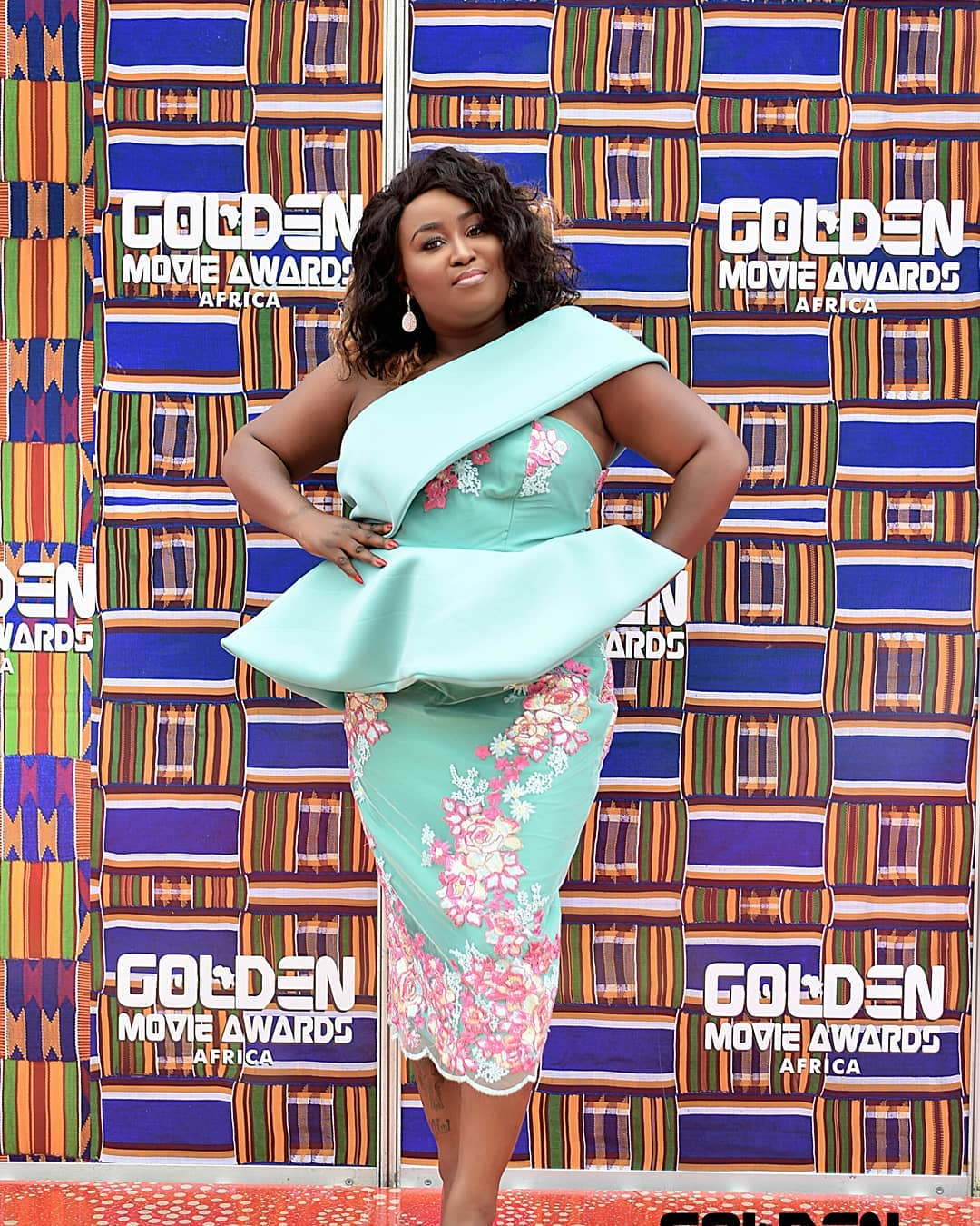 Director of the Golden Movie Awards Mimi Andani Michaels.