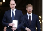 Prince Harry and William will walk beside cousin Peter Phillips during the procession (Image: Getty Images)